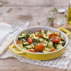 Zucchine-e-pomini-al-forno-con-zenzero-candito